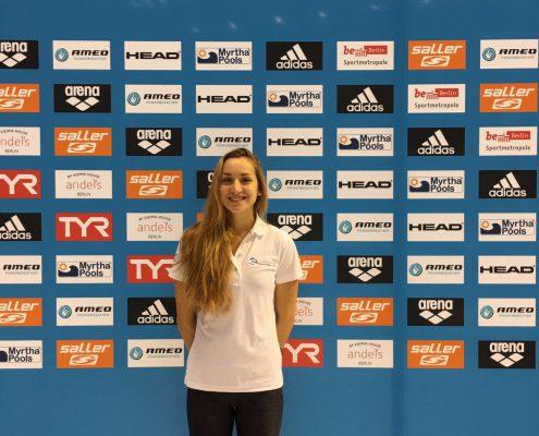 Nikolina Kasalo bei den Deutschen Kurzbahnmeisterschaften 2016